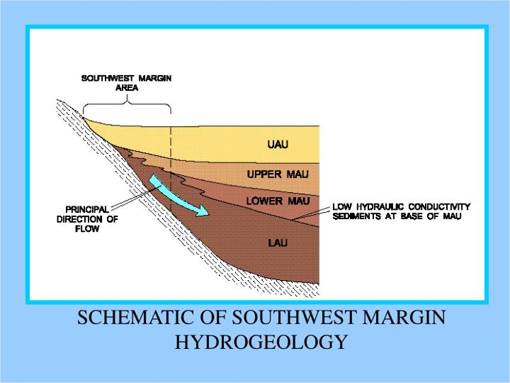 SCHEMATIC OF SOUTHWEST MARGIN