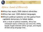 africa land of diversity