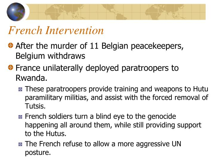 French Intervention