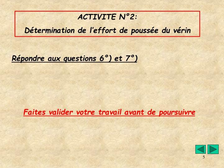 ACTIVITE N°2:
