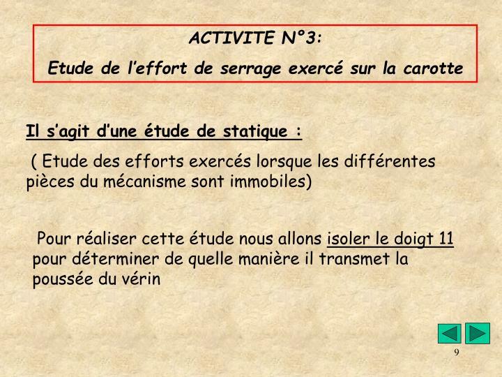ACTIVITE N°3: