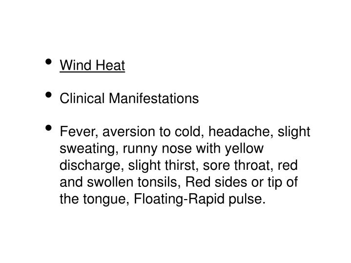 Wind Heat