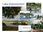 lake improvement