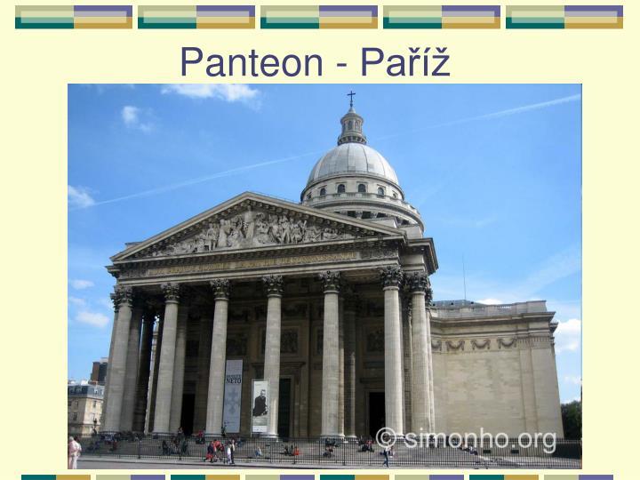 Panteon - Paříž