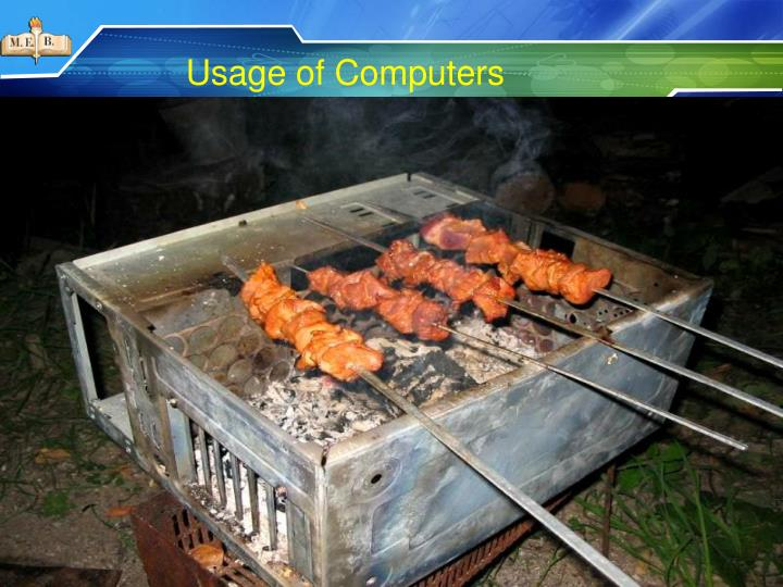 Usage of Computers