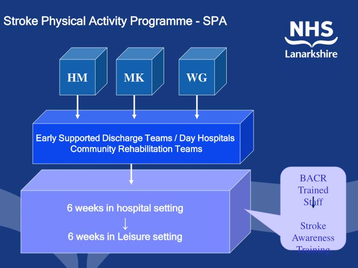 Stroke Physical Activity Programme - SPA