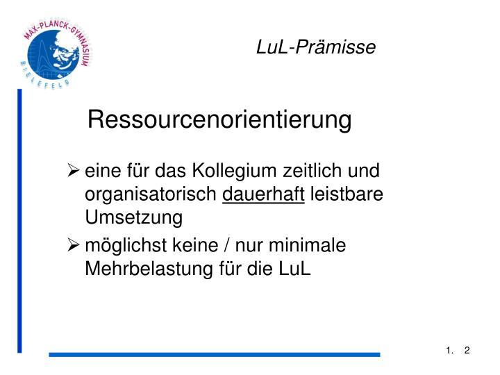 LuL-Prämisse