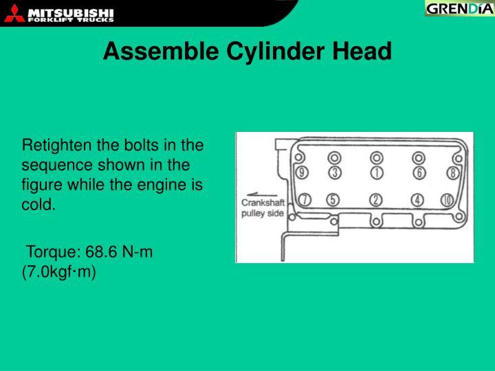 Assemble Cylinder Head