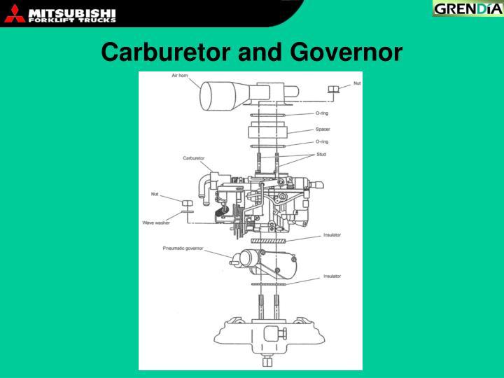 Carburetor and Governor