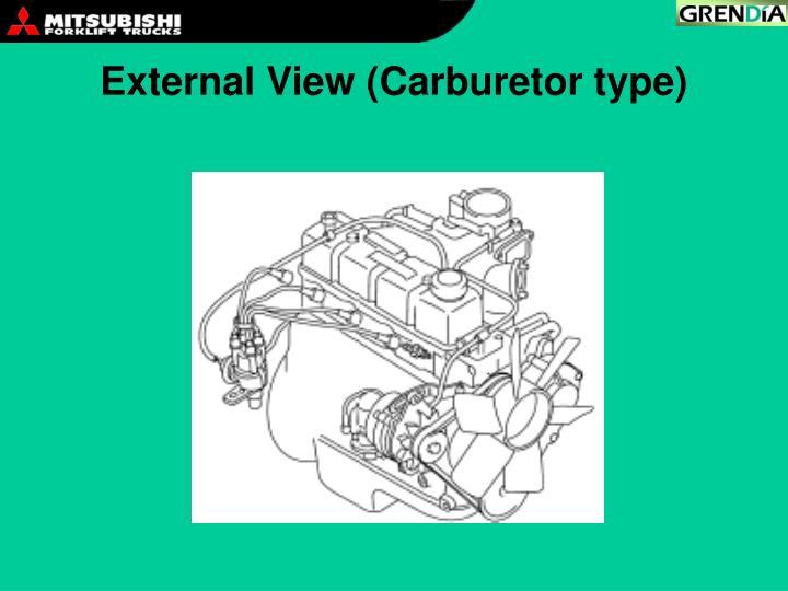 External View (Carburetor type)