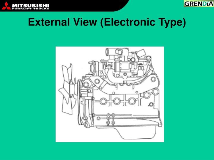External View (Electronic Type)