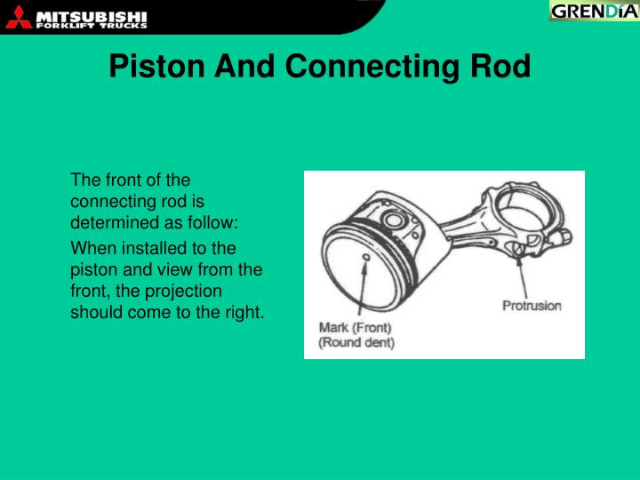 Piston And Connecting Rod