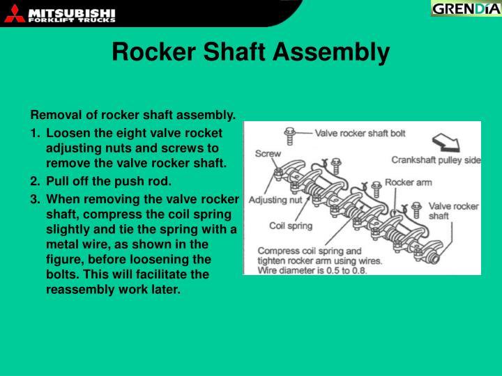 Rocker Shaft Assembly
