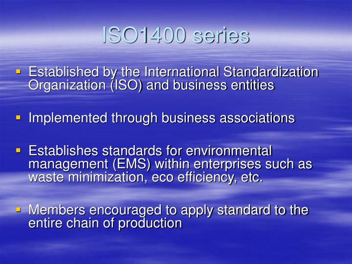 ISO1400 series