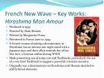 french new wave key works hiroshima mon amour