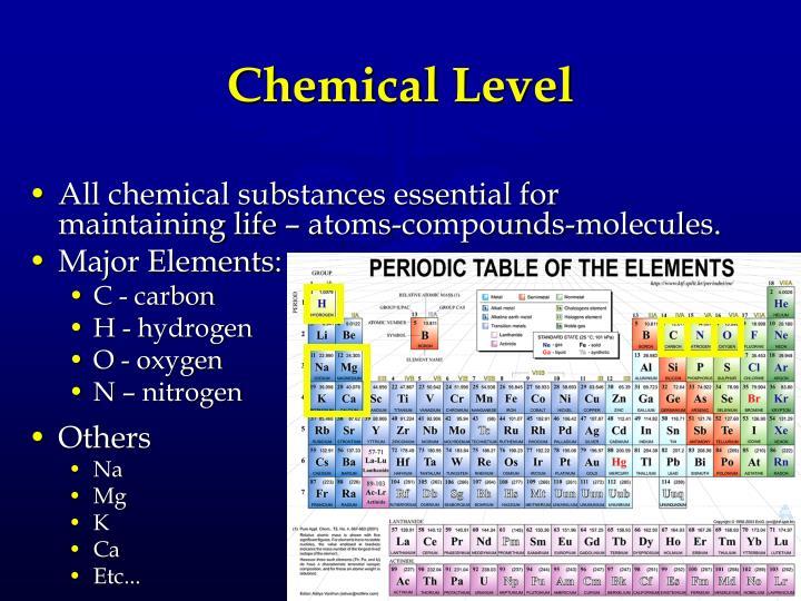 Chemical Level