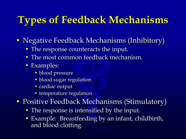 Types of Feedback Mechanisms