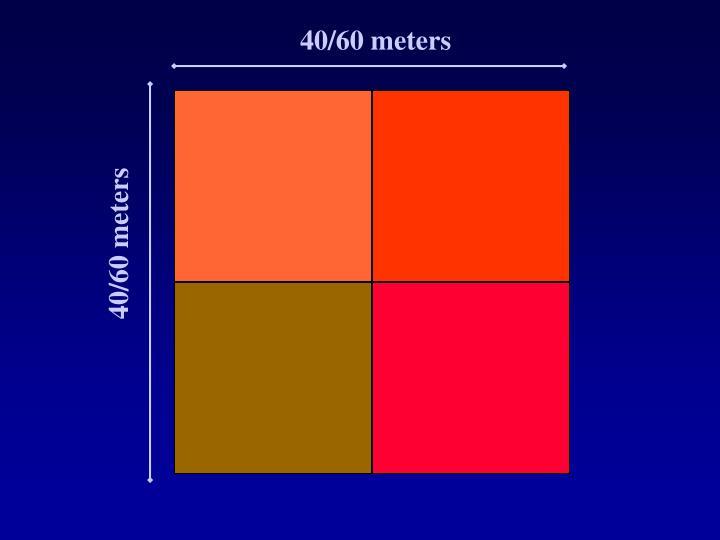 40/60 meters