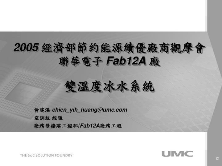 2005 fab12a