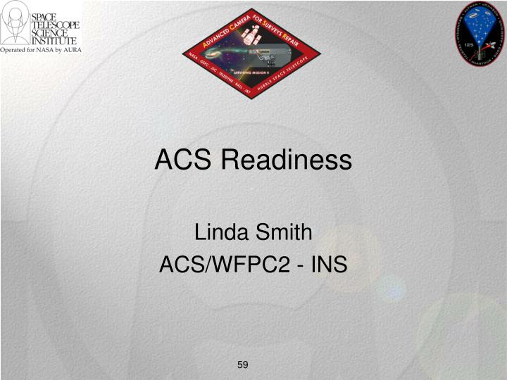 ACS Readiness