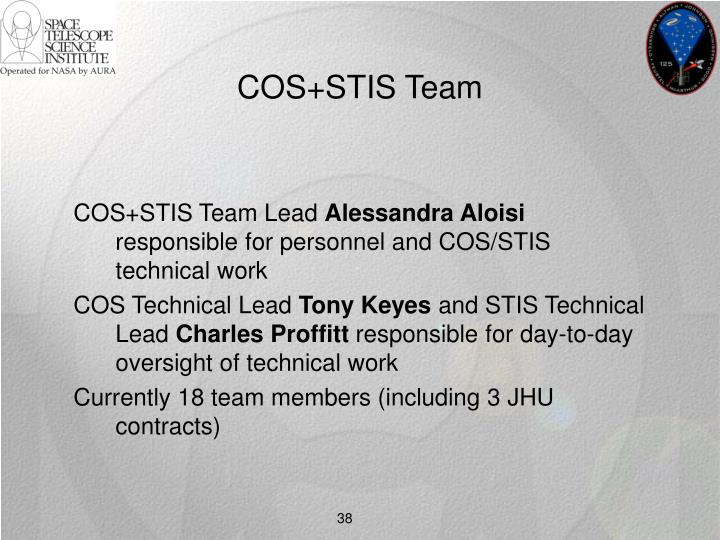 COS+STIS Team