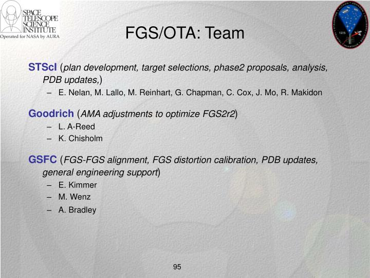 FGS/OTA: Team