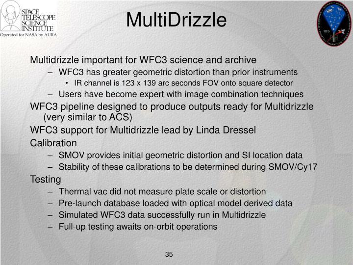 MultiDrizzle