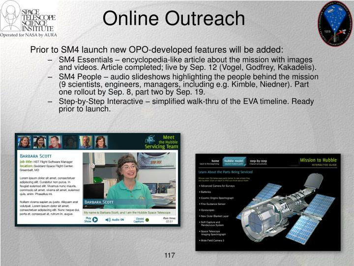 Online Outreach