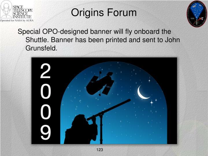 Origins Forum