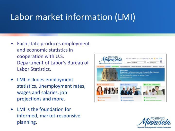 Labor market information (LMI)