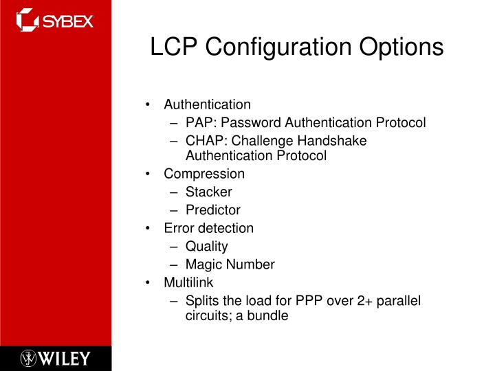 LCP Configuration Options