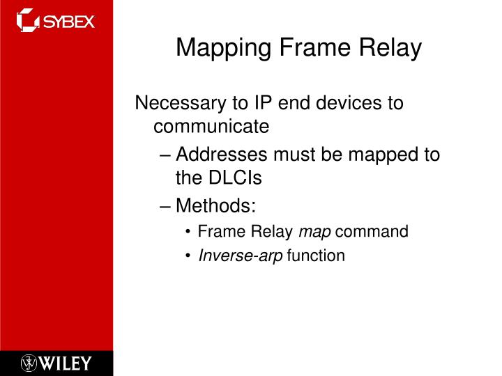 Mapping Frame Relay
