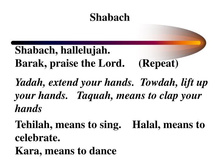 Shabach