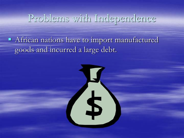 Problems with Independence