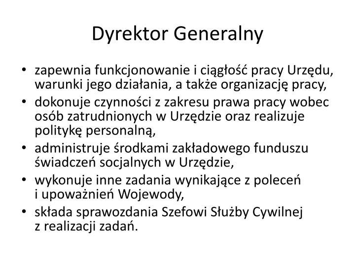 Dyrektor Generalny