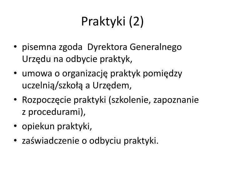 Praktyki (2)