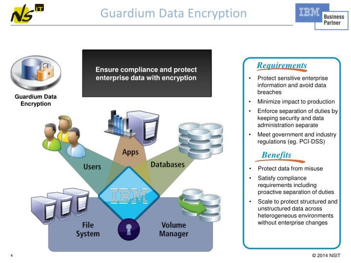 Guardium Data Encryption