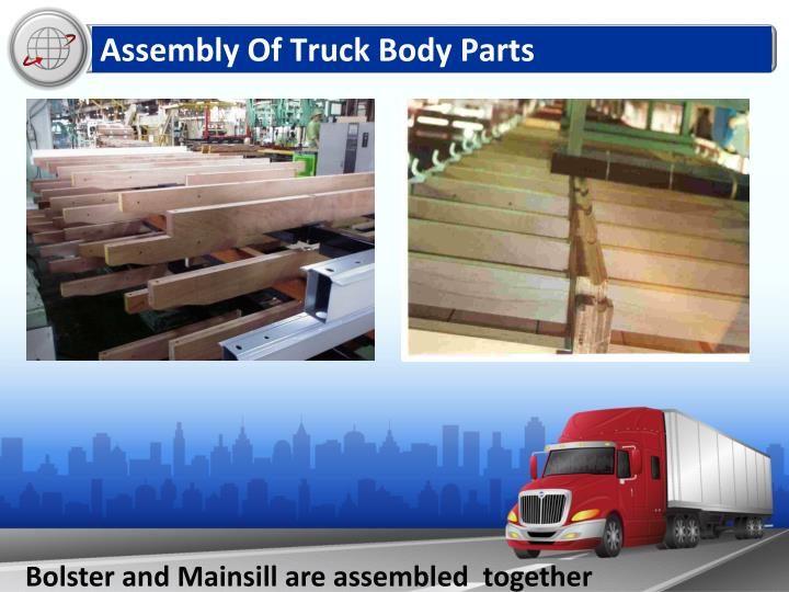 Assembly Of Truck Body Parts