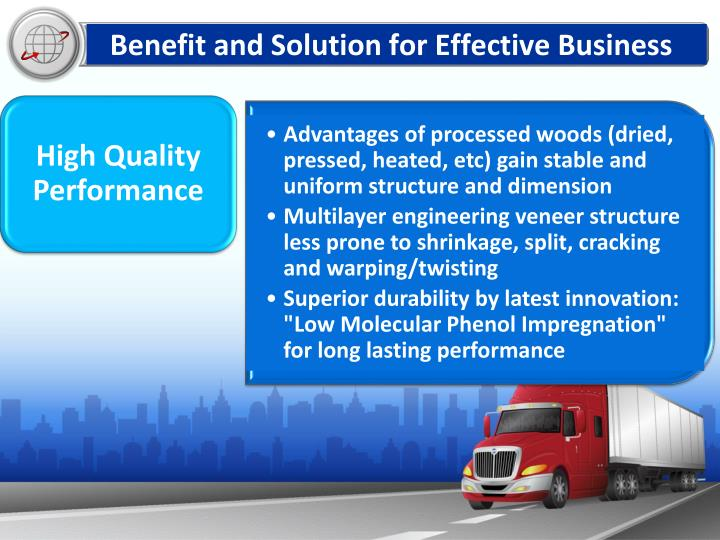 Benefit and Solution for Effective Business