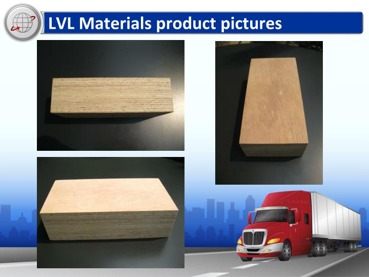 LVL Materials product pictures
