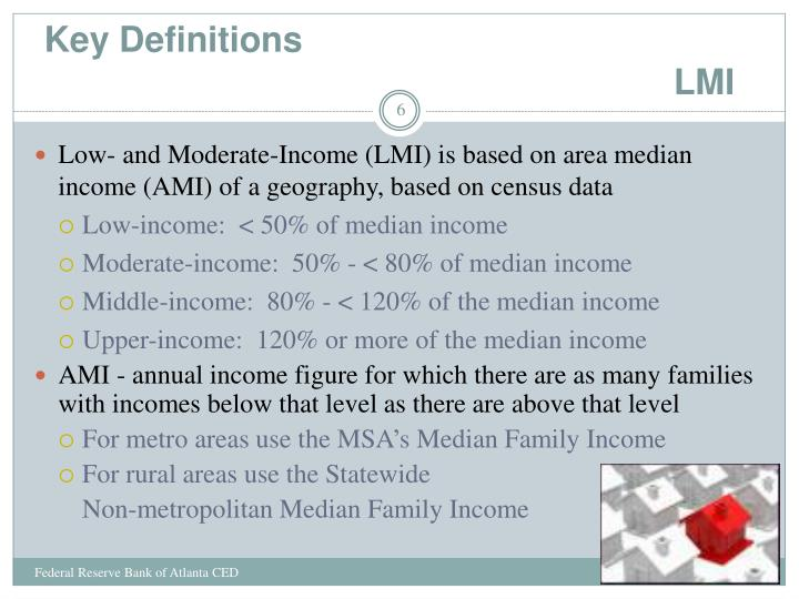 Key Definitions                                                                         LMI