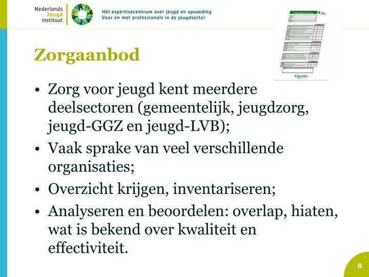 Zorgaanbod