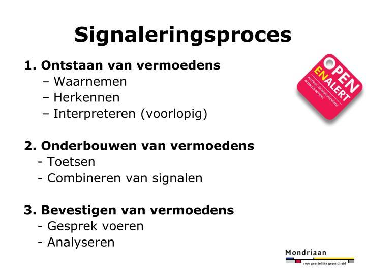 Signaleringsproces