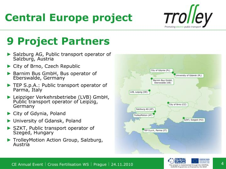 Central Europe project