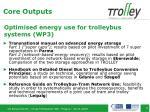 optimised energy use for trolleybus systems wp3