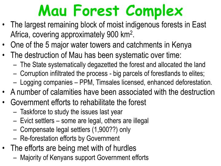 Mau Forest Complex