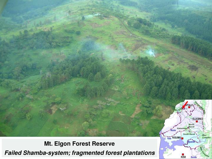 Mt. Elgon Forest Reserve
