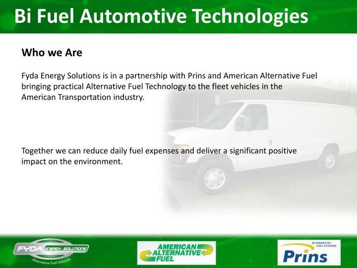 Bi Fuel Automotive Technologies