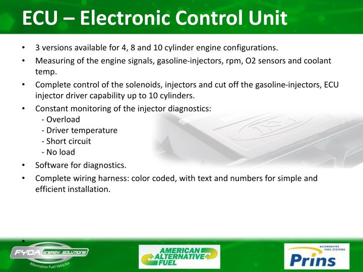 ECU – Electronic Control Unit