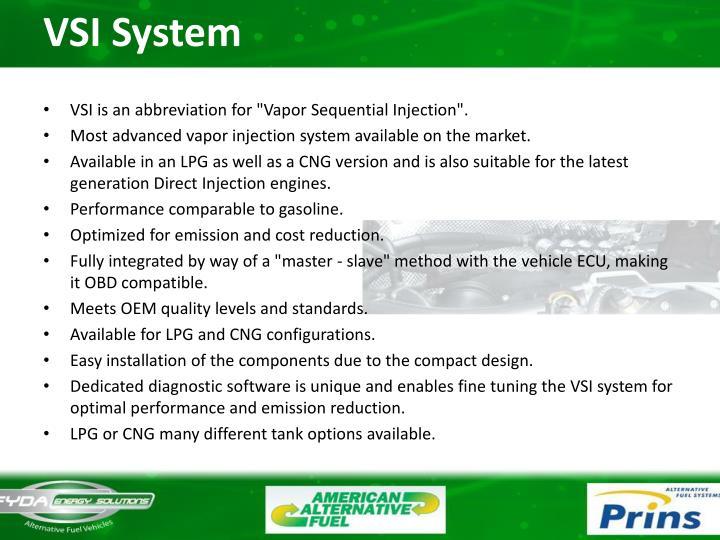 VSI System